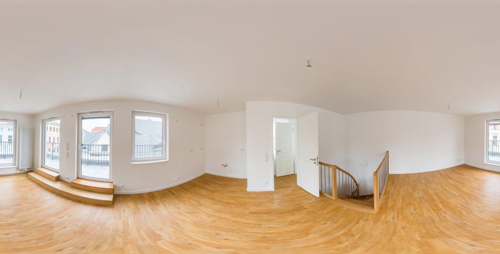 Virtuelle Touren durch Wohnungen und Immobilien